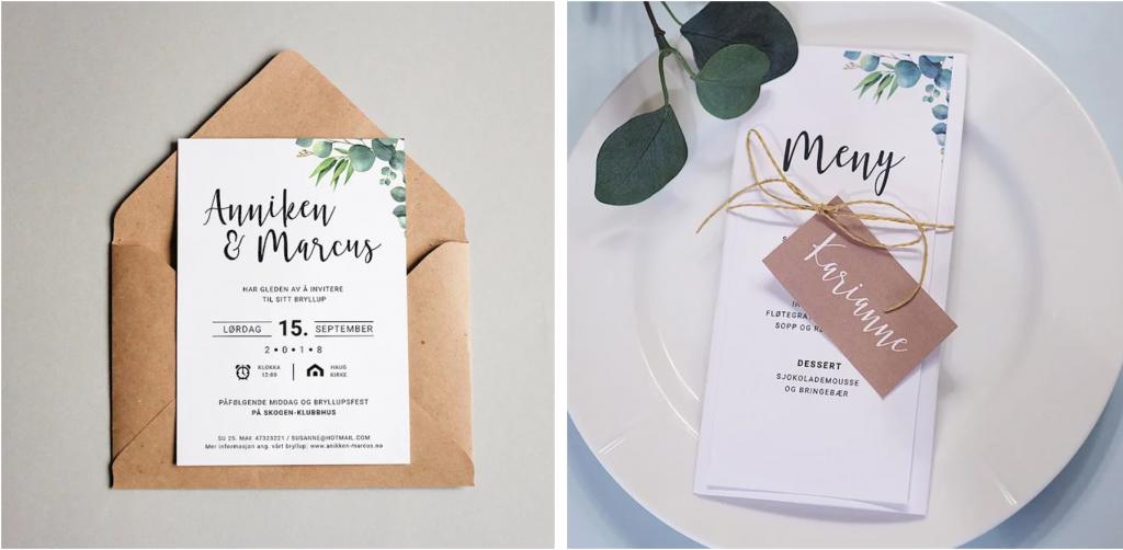Bryllup design gratisdesign designmal bryllup trykksaker til bryllup Marry Juliet