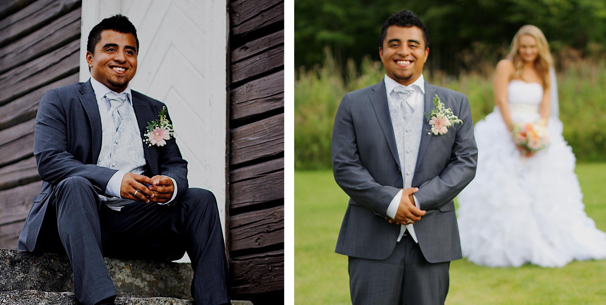 hvordan oppleves bryllupet for brudgommen?